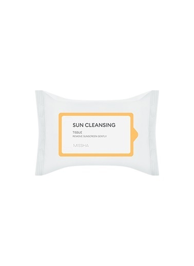 Missha All Around Safe Block Sun Cleansing Tissue Renksiz